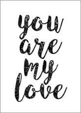 Premium-Poster  You are my love - Finlay and Noa