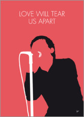 Premium-Poster Joy Division - Love Will Tear Us Apart