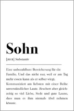 Gallery Print  Definition Sohn - Pulse of Art