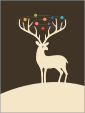 Premium-Poster  My Deer Universe - Andy Westface