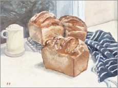 Acrylglas  Selbstgemachtes Brot - Mary Want