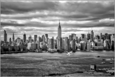 Premium-Poster Skyline New York von Brooklyn