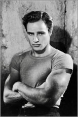 Holzbild  Marlon Brando - Celebrity Collection