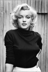 Hartschaumbild  Marilyn Monroe - Celebrity Collection
