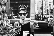 Leinwandbild  Breakfast at Tiffany's - Celebrity Collection