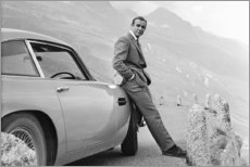 Hartschaumbild  Sean Connery alias 007 - Celebrity Collection
