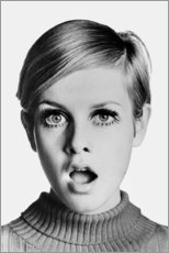 Alubild  Twiggy erstaunt - Celebrity Collection