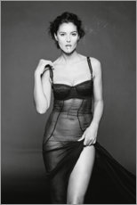 Premium-Poster  Monica Bellucci - Celebrity Collection