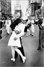 Holzbild  V-J Day am Times Square - Celebrity Collection