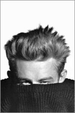 Premium-Poster  James Dean versteckt - Celebrity Collection