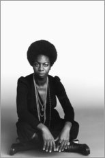 Premium-Poster  Nina Simone - Celebrity Collection