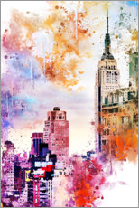 Wandsticker  Das Empire State Building - Philippe HUGONNARD