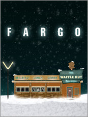 Wandsticker  Fargo - The Usher designs