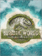 Leinwandbild  Jurassic World - The Usher designs