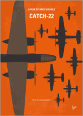 Premium-Poster No1047 My Catch 22 minimal movie poster