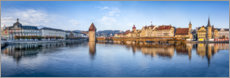 Wandsticker  Panorama von Luzern - Jan Christopher Becke