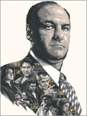 Gallery Print  Die Sopranos - The Usher designs