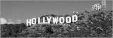 Acrylglasbild  Hollywood Sign in Los Angeles, Kalifornien