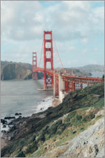 Premium-Poster  Golden Gate Bridge, San Francisco - TBRINK