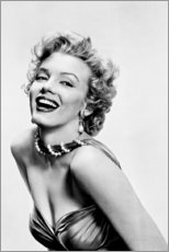 Gallery Print  Marilyn Monroe - lächelnd - Celebrity Collection