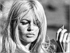 Leinwandbild  Brigitte Bardot - vom Winde verweht - Celebrity Collection