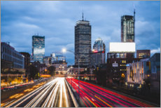 Premium-Poster Interstate Highway in Boston