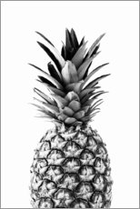 Hartschaumbild  Ananas - Art Couture