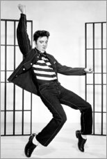 Premium-Poster  Elvis Presley tanzend II - Celebrity Collection