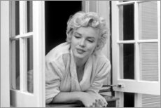Leinwandbild  Marilyn Monroe - Fenster Szene - Celebrity Collection