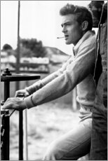 Holzbild  James Dean - Celebrity Collection