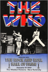 Premium-Poster  The Who - Hall of Fame - Entertainment Collection