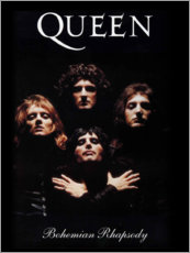 Holzbild  Queen ? Bohemian Rhapsody - Entertainment Collection