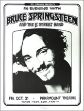 Holzbild  Bruce Springsteen - E Street Band - Entertainment Collection