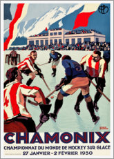 Premium-Poster  Chamonix - Travel Collection