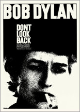 Leinwandbild  Bob Dylan - Don't Look Back - Entertainment Collection