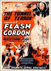 Premium-Poster  Flash Gordon - Entertainment Collection