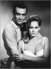 Premium-Poster Sean Connery und Ursula Andress