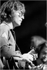 Premium-Poster John Lennon, Benefizkonzert in New York