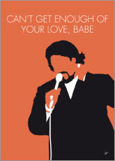 Premium-Poster Barry White - Can't Get Enough Of Your Love, Babe