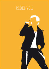 Premium-Poster Billy Idol - Rebel Yell