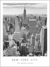 Premium-Poster  New York City - Art Couture