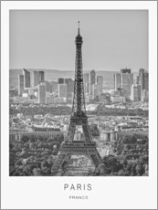 Premium-Poster  Paris - Art Couture