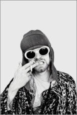 Wandsticker  Kurt Cobain - Celebrity Collection