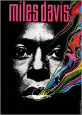 Premium-Poster  Miles Davis - Tutu - Entertainment Collection