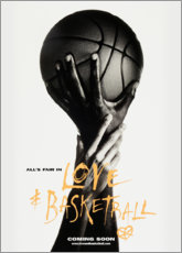 Leinwandbild  Love & Basketball - Advertising Collection