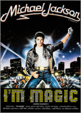 Wandsticker  Michael Jackson - I'm magic - Entertainment Collection