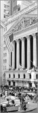 Gallery Print  Fassade der New York Stock Exchange