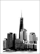 Premium-Poster  New York II - Jeff Pica