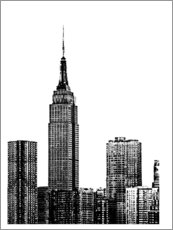 Premium-Poster  New York III - Jeff Pica