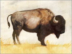 Gallery Print  Bison II - Victoria Borges